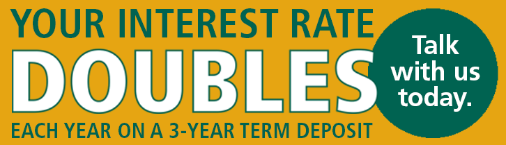 Double Rate Term Deposit