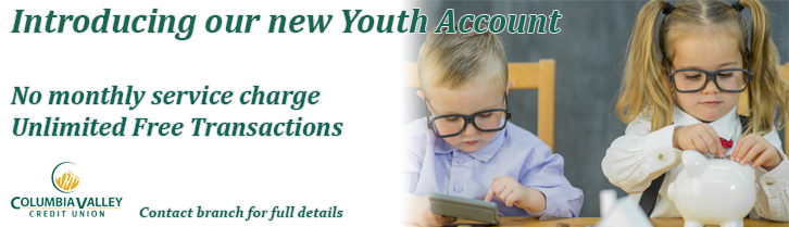Introducing our new youth account.